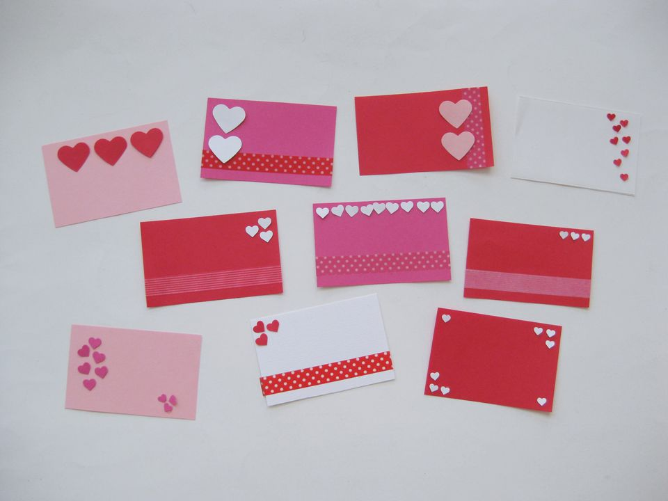Easy Mini School Valentine Cards to Make in Minutes – Valentines Cards for School
