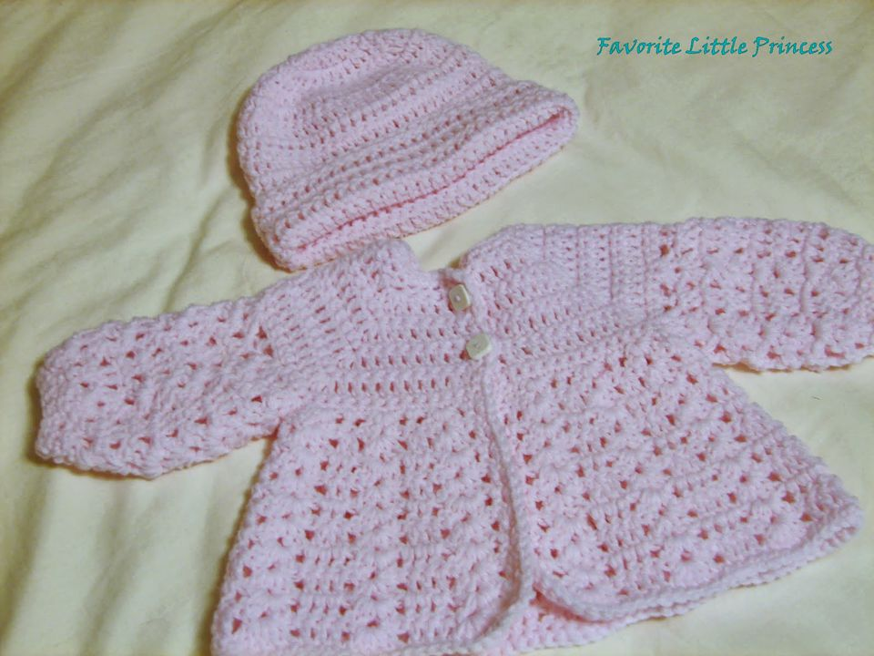Crochet Matinee Jacket Patterns For Baby Garden View Landscape