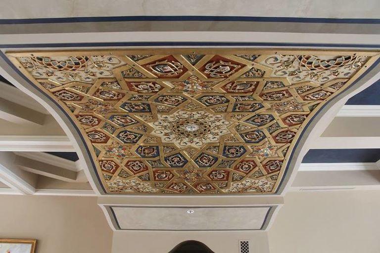 3D printed ceiling tile