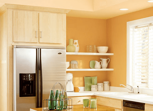 wall paint colors. Behr Kitchen Paint Color: Sunshine Delight Wall Colors T