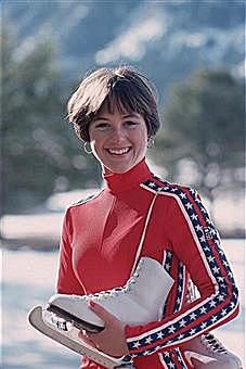 1976 Olympic Figure Skating Champion Dorothy Hamill