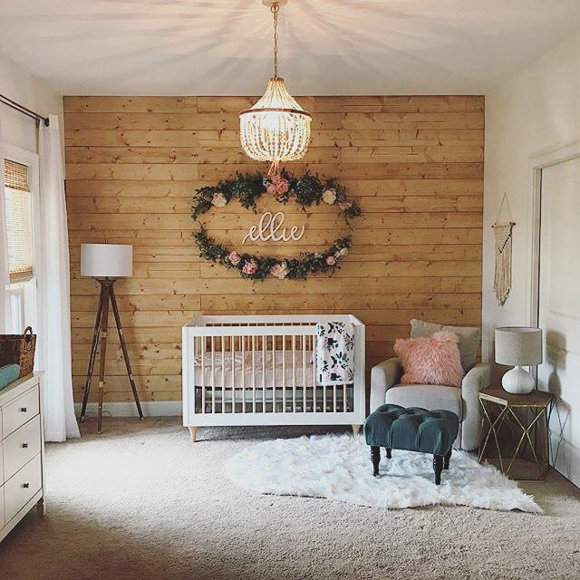 Toddler Bedroom Wall Art Simple Bedroom Curtain Ideas Images Of Bedroom Design Creative Bedroom Wall Decor Ideas: 24 Charmingly Rustic Nursery Rooms