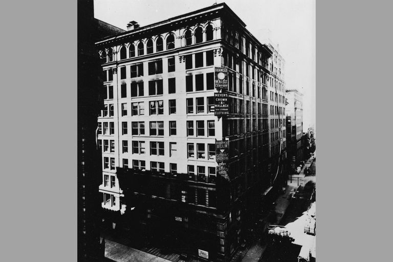 Exterior Of The Asch Building, about 1910
