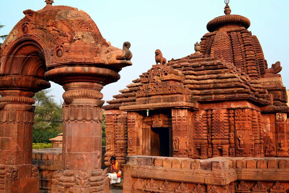 Temple in Bhubaneshwar.