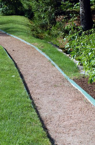 Non-masonry paths may be composed of fine gravel or decomposed granite.