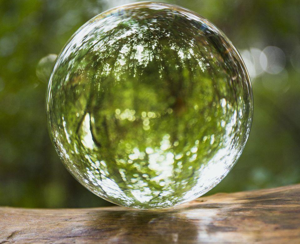 feng shui use crystal ball