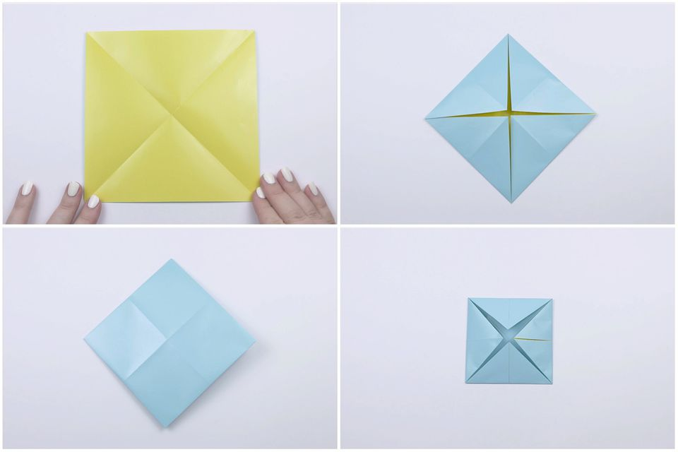 how to make an origami cootie catcher