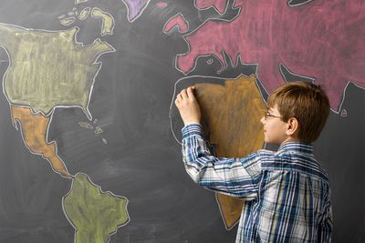 Tips On How To Memorize A Map For A Quiz - Blank Us Map Color
