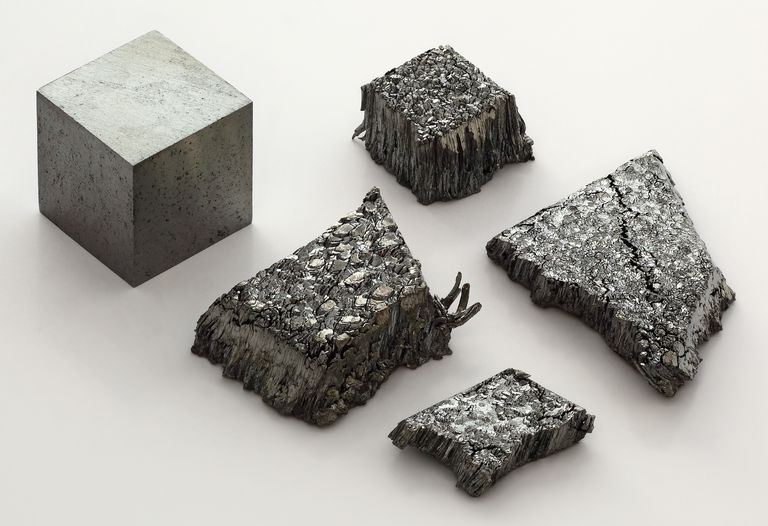 Francium is the most expensive of the first 101 elements, but lutetium (shown) is the most expensive element the average person can actually obtain.
