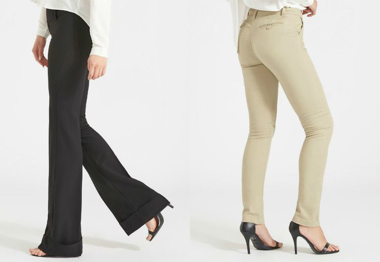 Alloy pants for tall women
