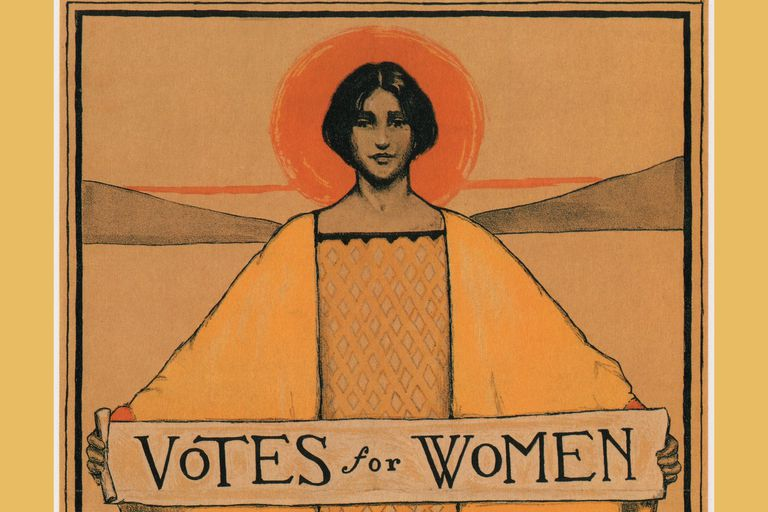 Poster: Votes for women, 1911-1913.