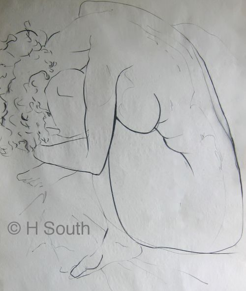 Figure Drawing, line and contour