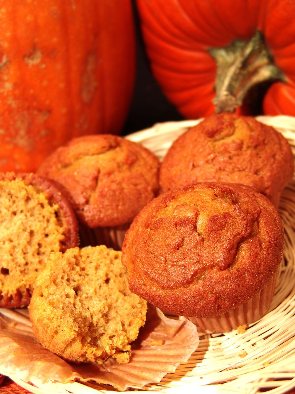 Pumpkin Muffins for Breakfast