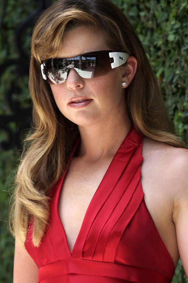 Photograph of Paula Creamer Wearing Sundog Sunglasses