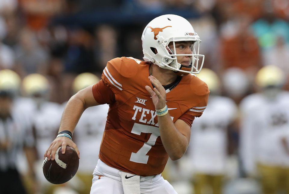 Texas Quarterback Shane Buechele