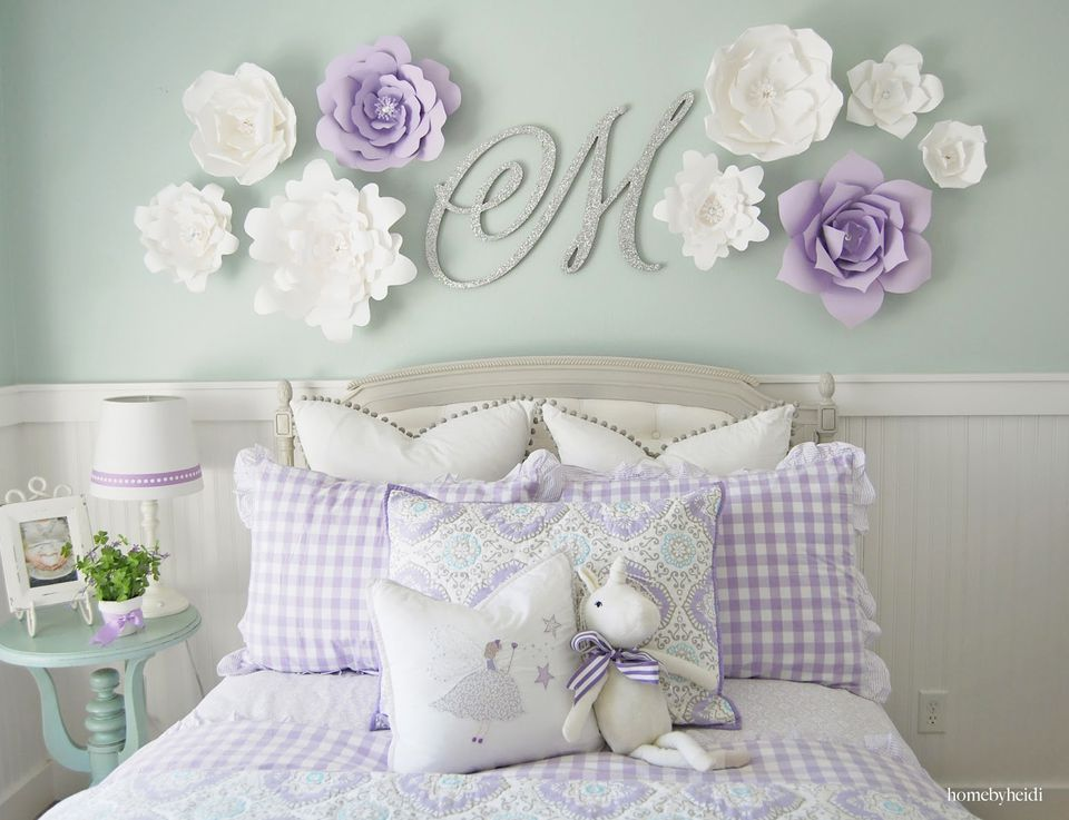24 Wall Decor Ideas for Girls' Rooms