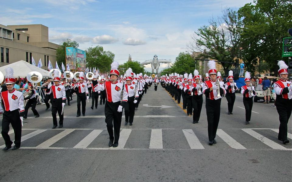 The 2013 Pegasus Parade.