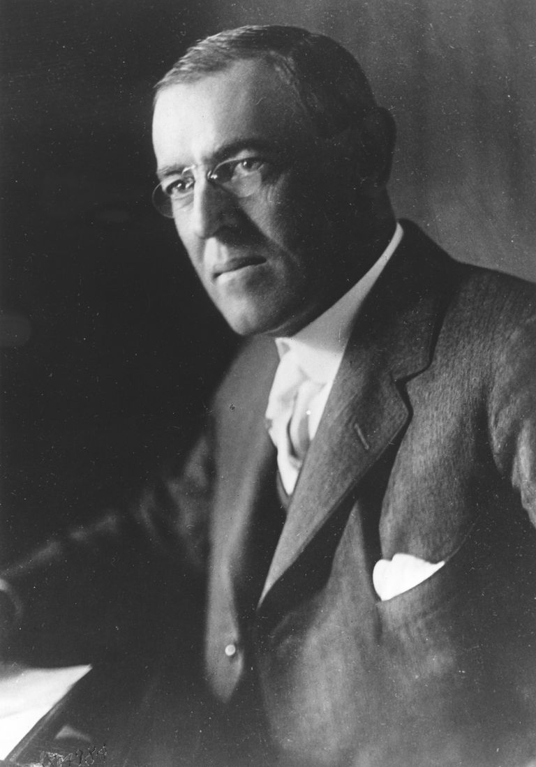Picture of President Woodrow Wilson.