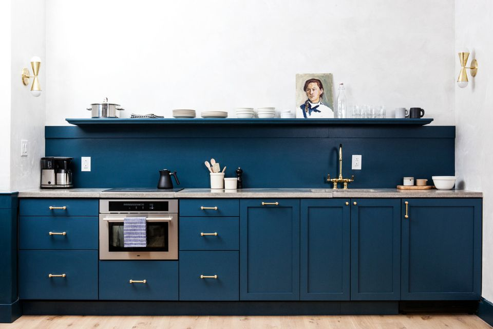 Blue Kitchens 29 beautiful blue kitchen design ideas