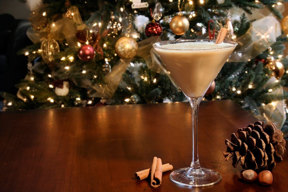 Rum Holiday Eggnog