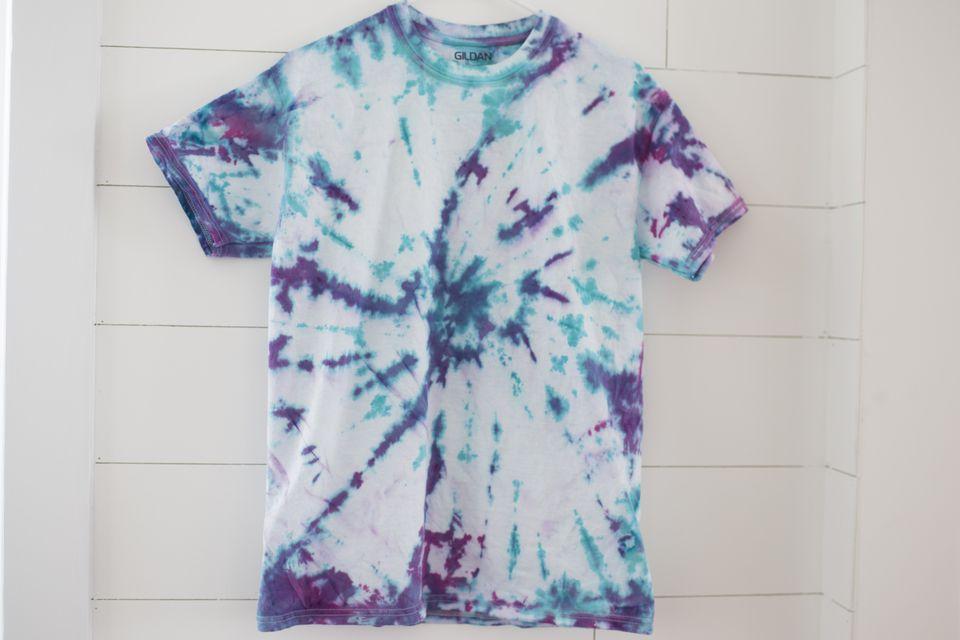 how to make cheap tie dye shirts