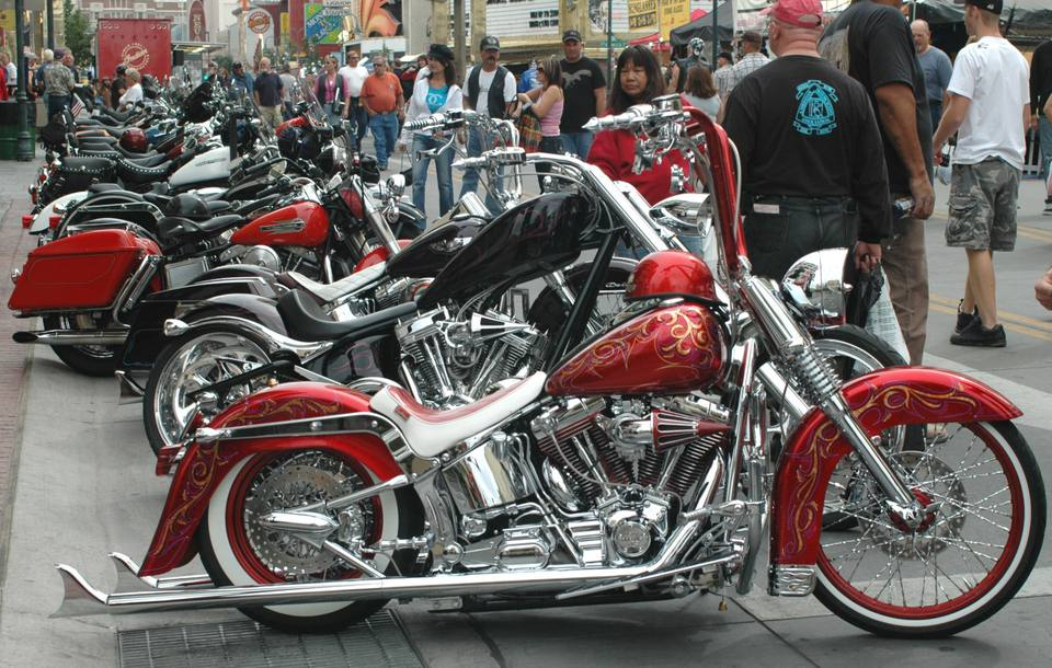 Street Vibrations Fall Rally in downtown Reno, Nevada.