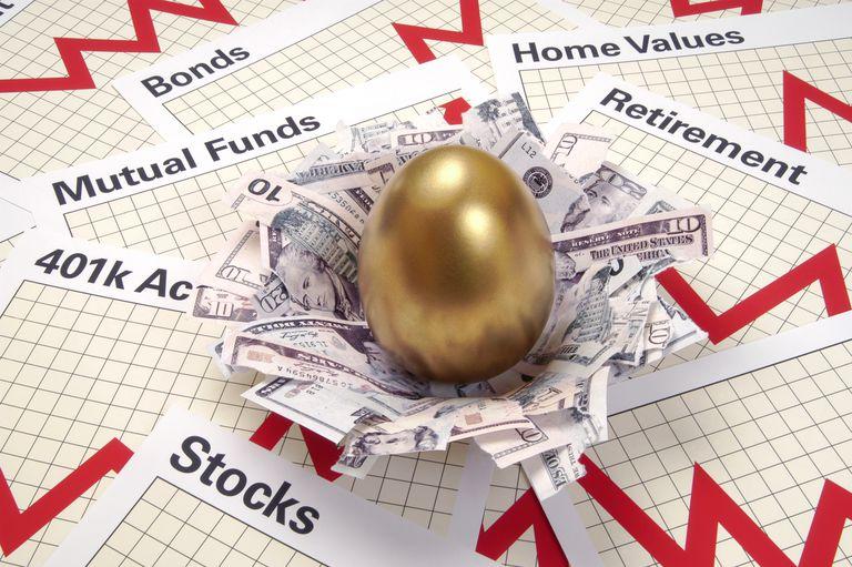 nest egg_investing in market correction
