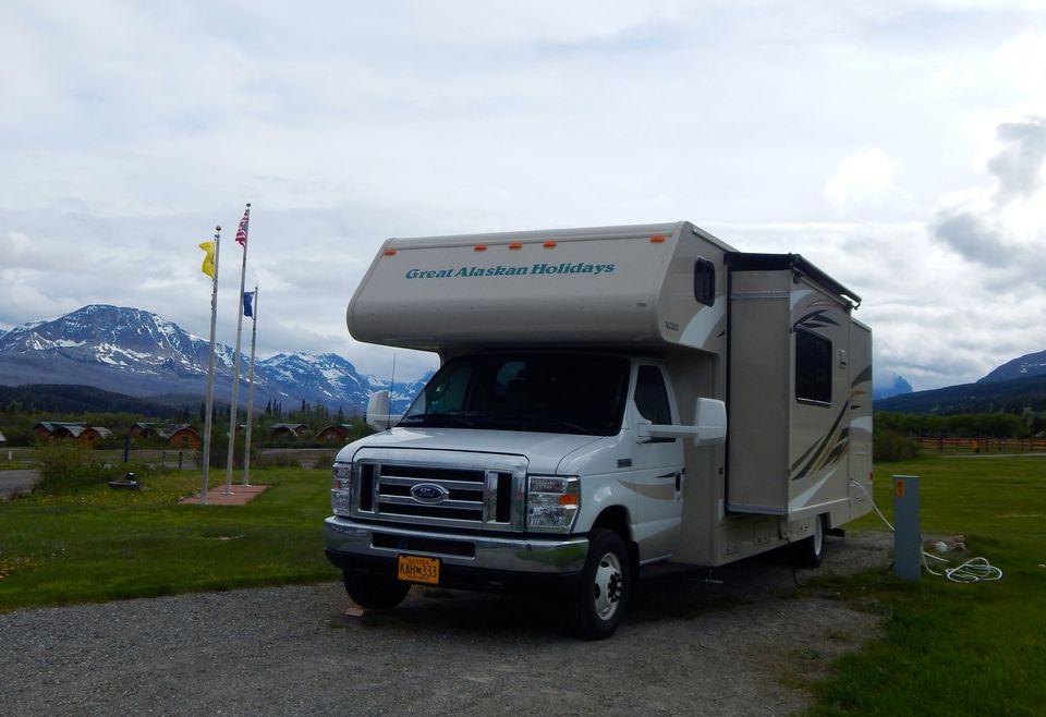 RV travel to Alaska