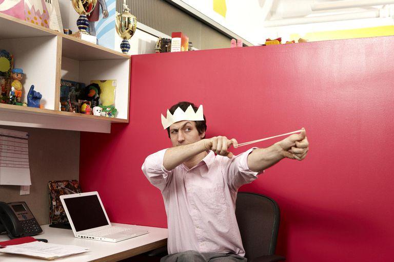 Office prankster