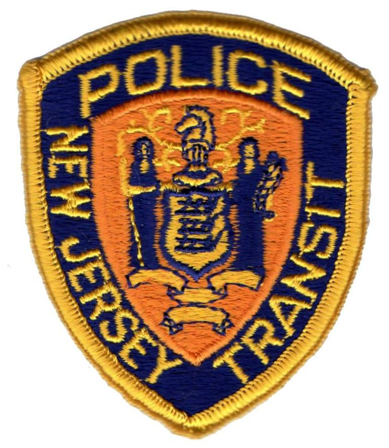 New Jersey transit police badge