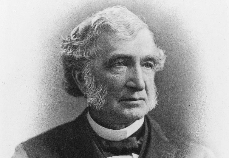 Engraved portrait of Congressman Justin Smith Morrill