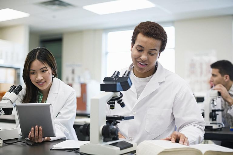 Students will look at the coacervates through a microscope.