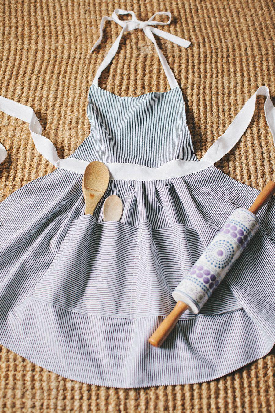 diy hostess apron
