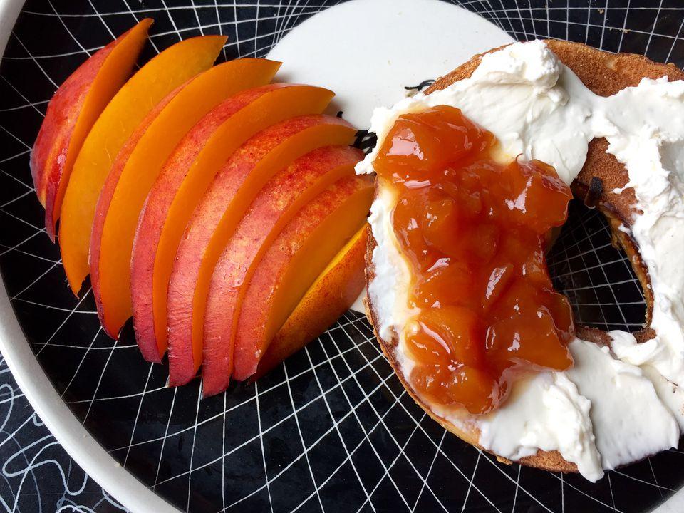 low sugar nectarine jam recipe