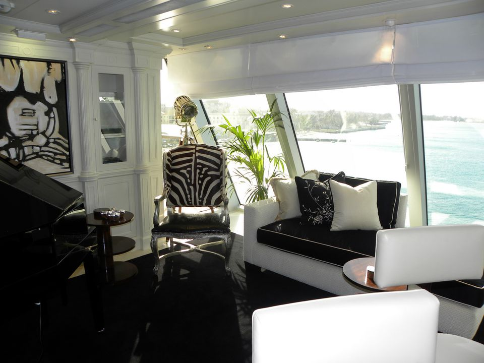 Foyer of the Oceania Cruises' Marina cruise ship