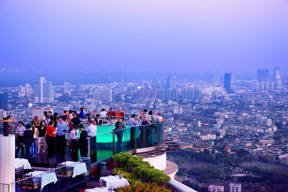 Sky Bar in Bangkok, set of the Hangover 2 movie