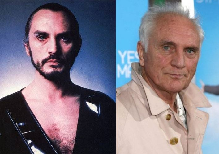 Terence Stamp as General Zod and Jor-El