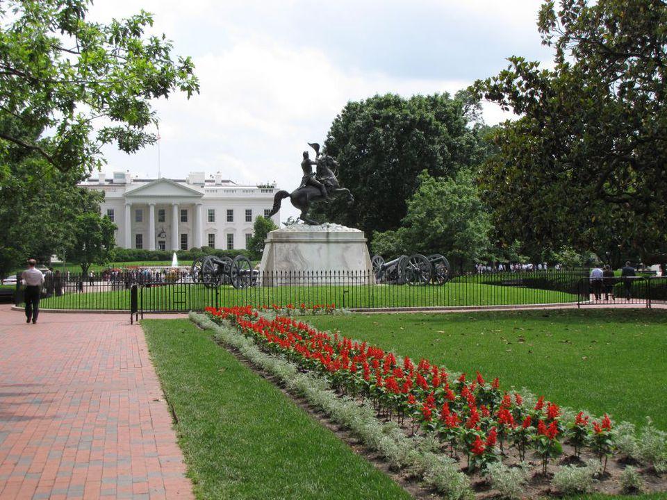 Lafayette Park in Washington, DC