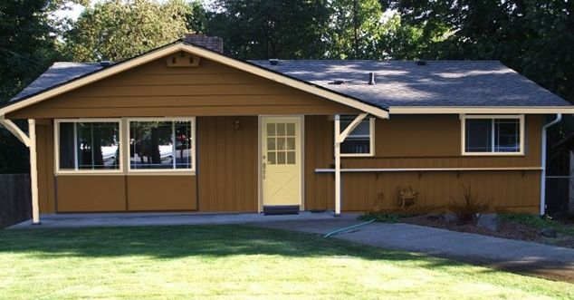 exterior paint colors brown - Exterior House Colors Brown