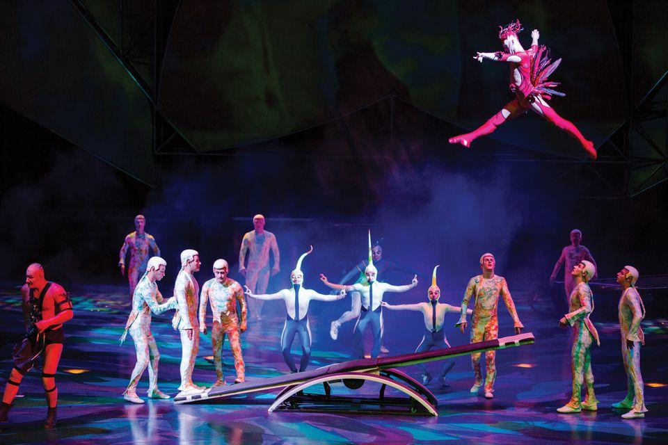 Mystere by Cirque du Soleil in Las Vegas