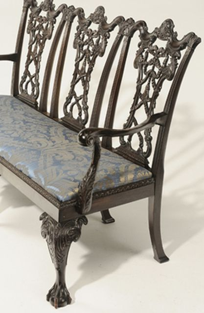 Chair-back Settee - Antique Couch, Sofa And Settee Styles