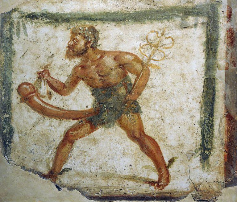 Painting from the Ruins of Herculanum