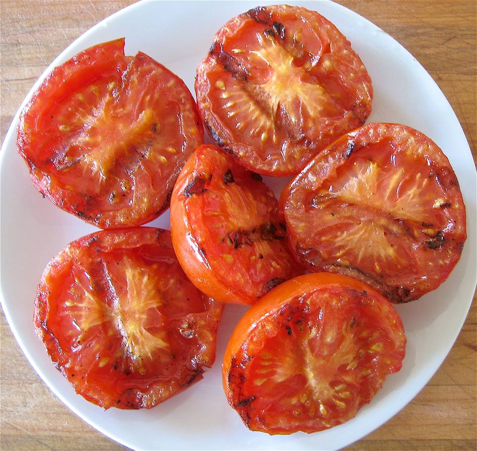How To Grill Tomatoes Simple Recipe