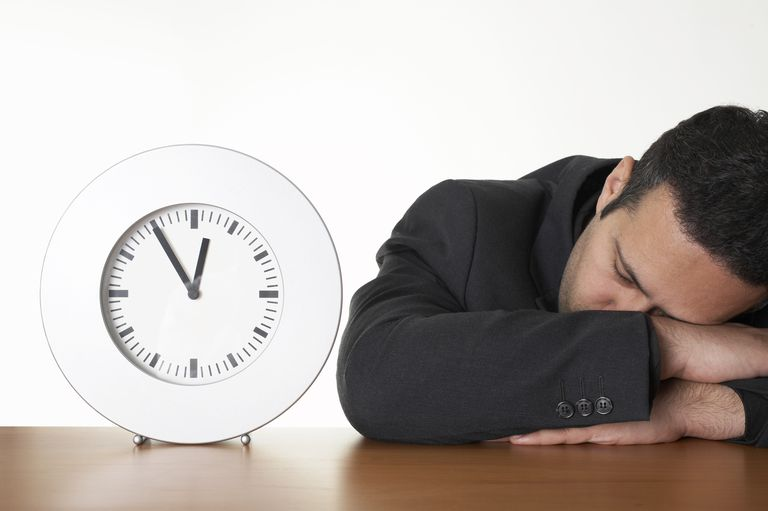 Sleeping in the office is one type of employee time theft.