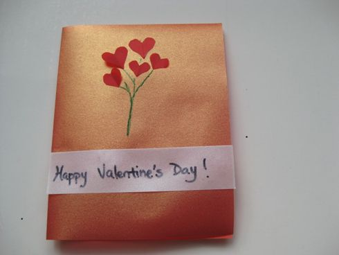 Ideas for Easy and Beautiful Homemade Valentine Cards