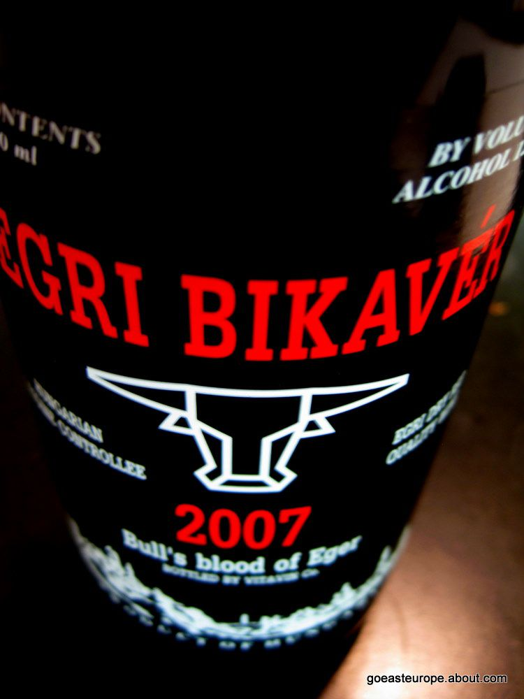Bull's Blood of Eger Wine