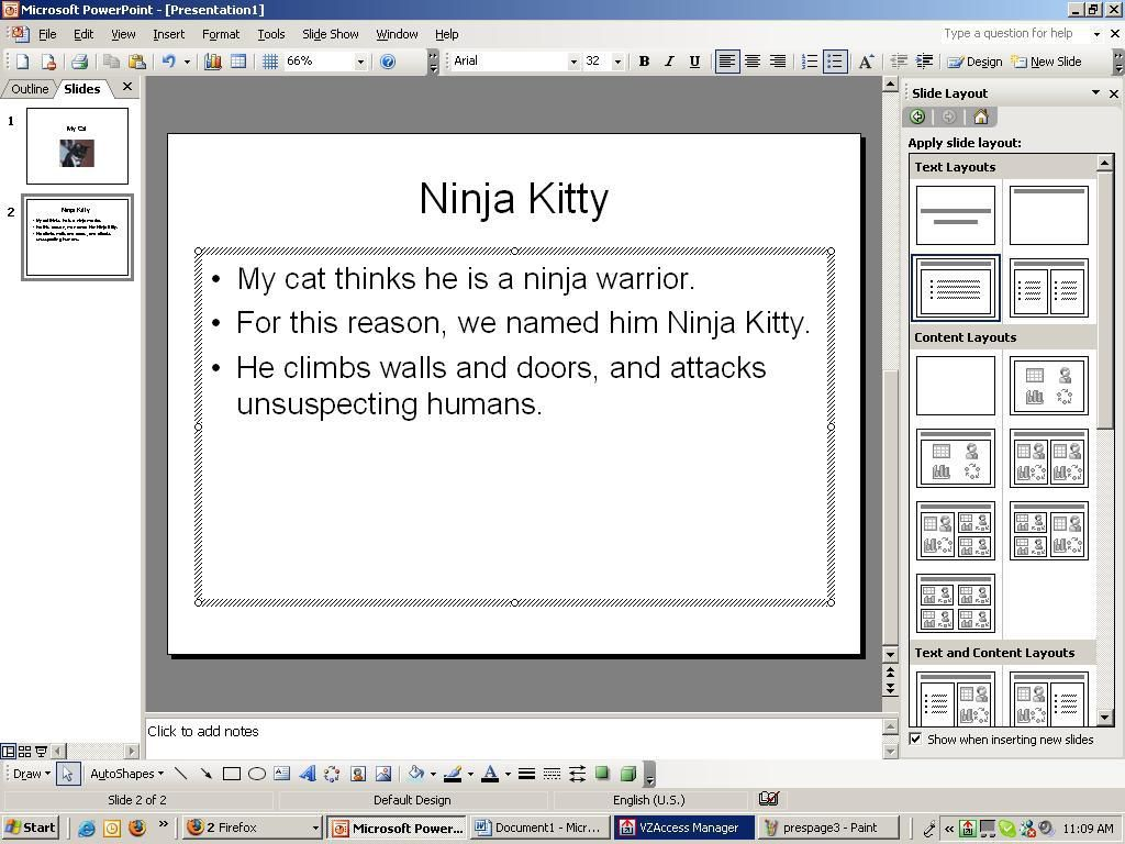 How to create a simple powerpoint presentation alramifo Image collections