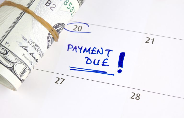 Payment due date