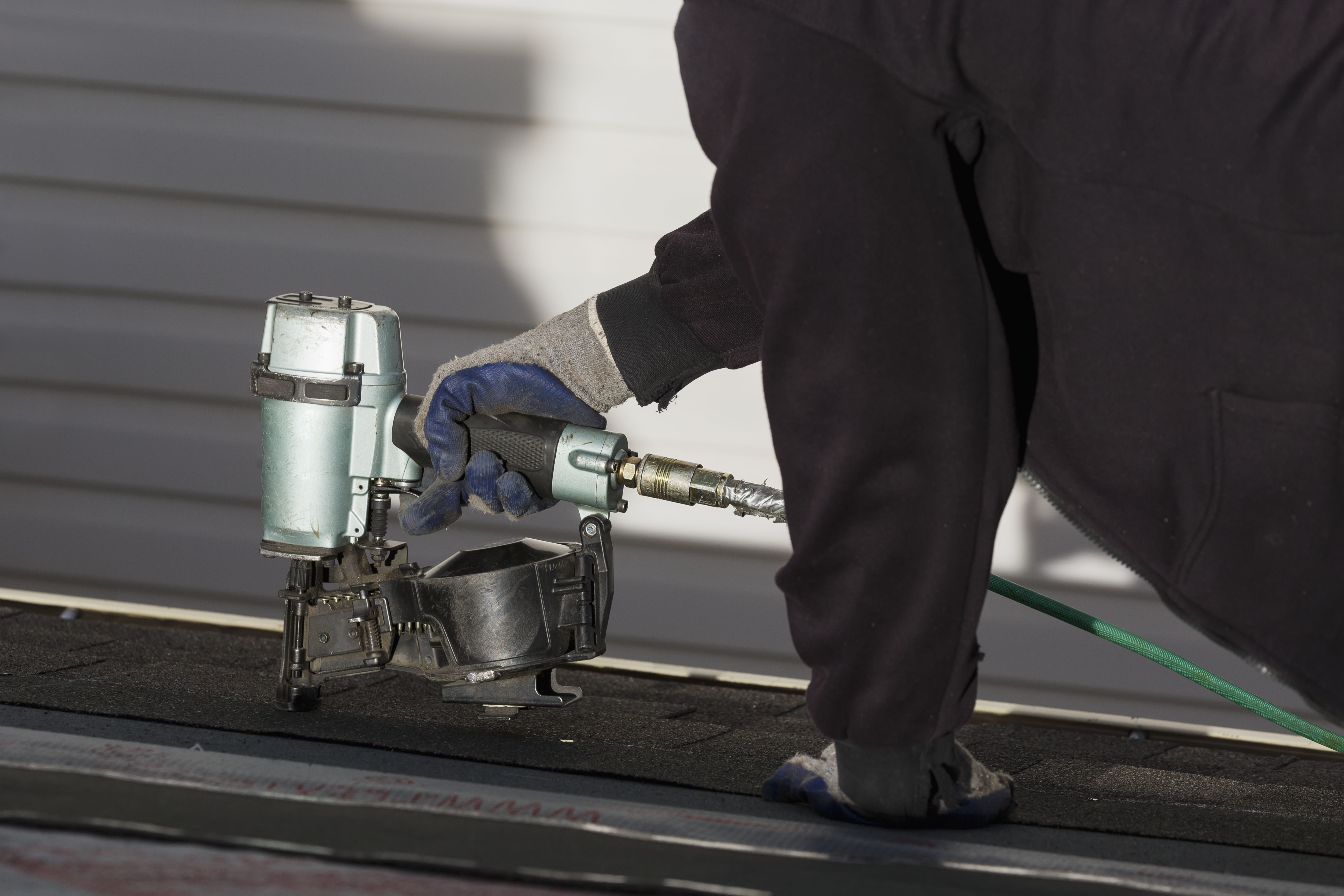 How to use a brad nailer for small projects for Air compressor for pool closing