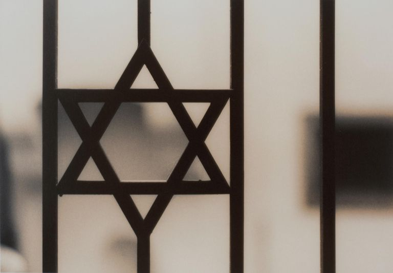Star of David on Gate